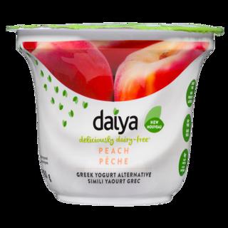 Picture of Greek Yogurt Alternative - Peach - 150 g