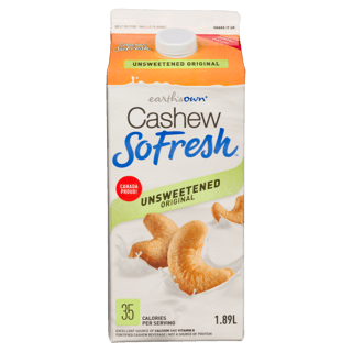 Picture of Cashew SoFresh - Unsweetened Original - 1.89 L