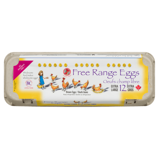 Picture of Free Range X-Large Eggs - 12 count