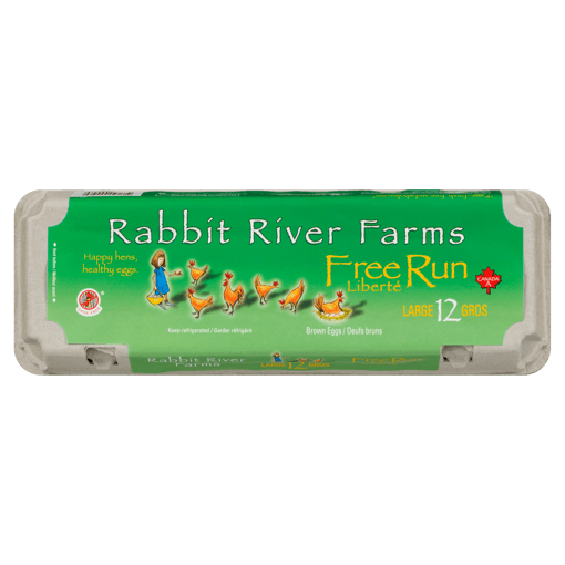 Picture of Large Veg-Fed Free Run Eggs - 12 count