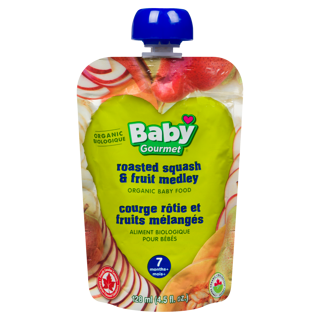 Picture of Organic Baby Food - Roasted Squash & Fruit Medley 7+ months - 128 ml