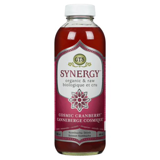Picture of Synergy Kombucha Drink - Cosmic Cranberry - 480 ml