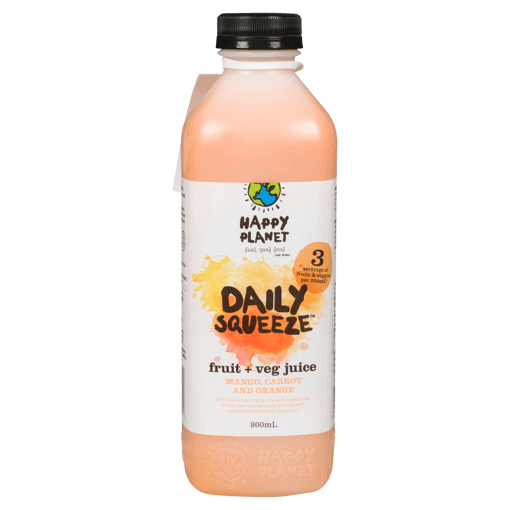 Picture of Daily Squeeze Fruit + Veg Juice - Mango, Carrot and Orange - 900 ml