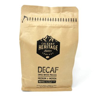 Picture of Whole Bean Coffee - Decaf Swiss Water Process - 340 g