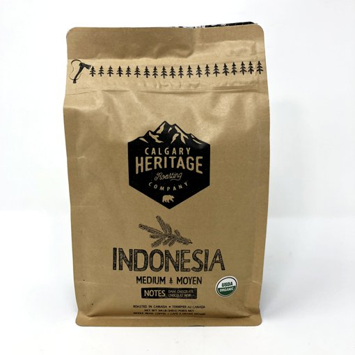 Picture of Whole Bean Coffee - Indonesia - 340 g
