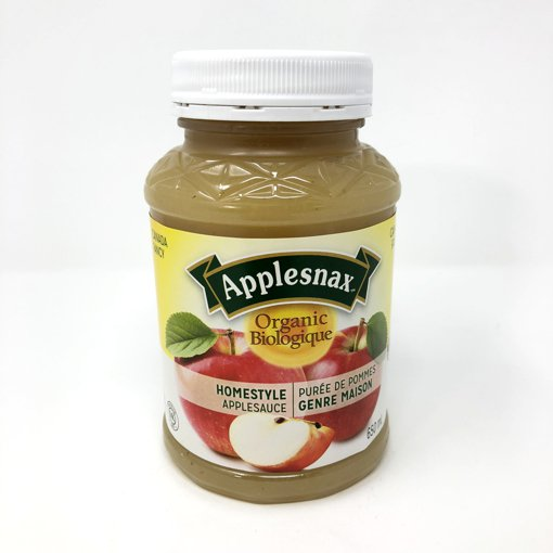 Picture of Apple Sauce - Organic Homestyle - 650 ml