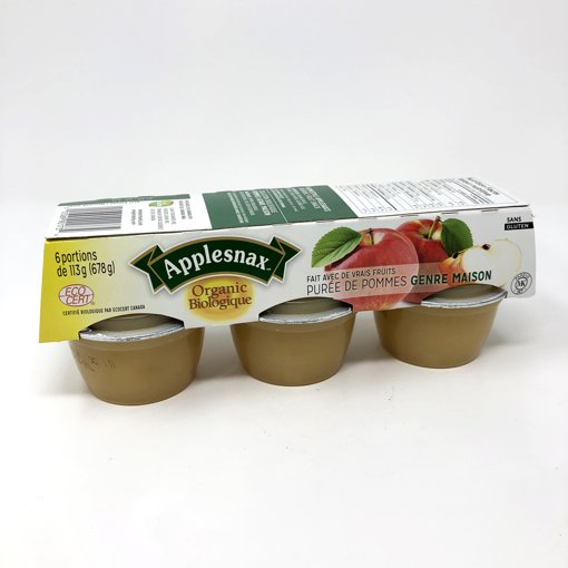 Picture of Applesauce Cups - Apple Sauce Homestyle - 6 x 113 g