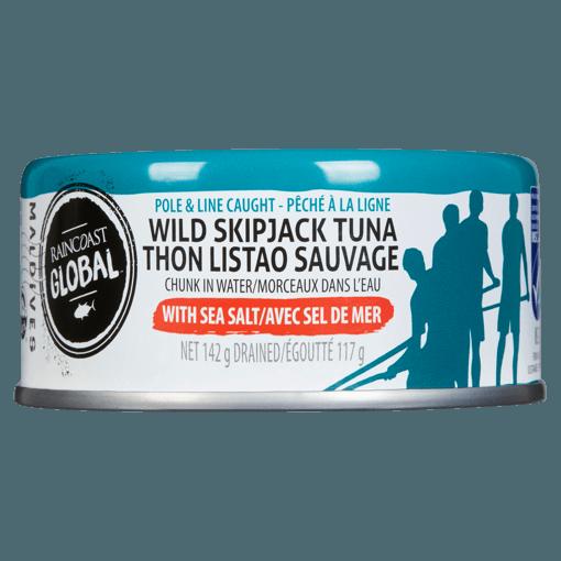 Picture of Wild Skipjack Tuna - With Sea Salt - 142 g