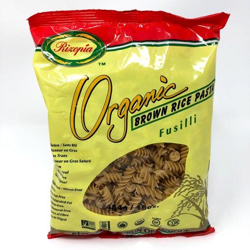 Picture of Organic Brown Rice Pasta - Fusilli - 454 g