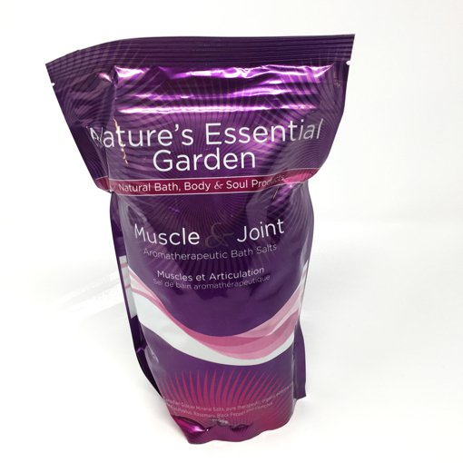 Picture of Aromatherapeutic Bath Salts - Muscle & Joint - 1000 g