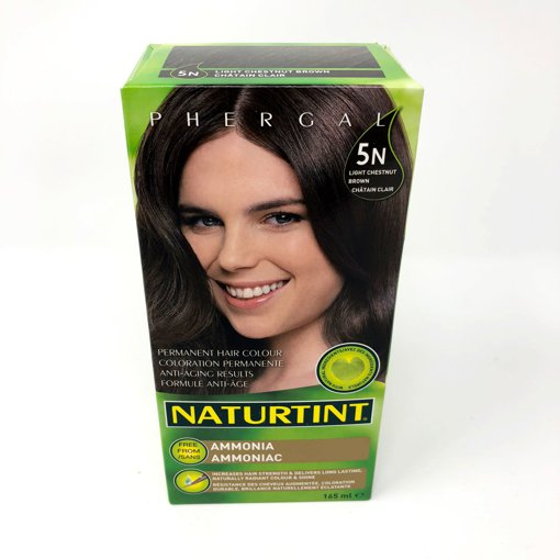 Picture of Permanent Hair Color - 5N Light Chestnut Brown - 165 ml
