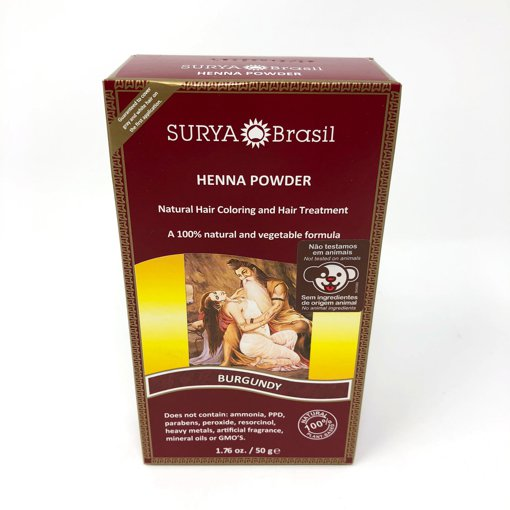 Picture of Henna Powder - Burgundy - 50 g