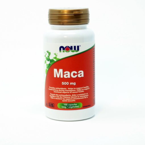 Picture of Maca - 500 mg - 100 veggie capsules