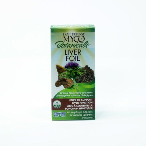 Picture of MycoBotanicals - Liver - 60 veggie capsules