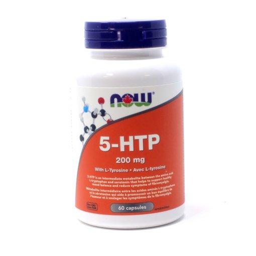 Picture of 5-HTP - 200 mg - 60 veggie capsules