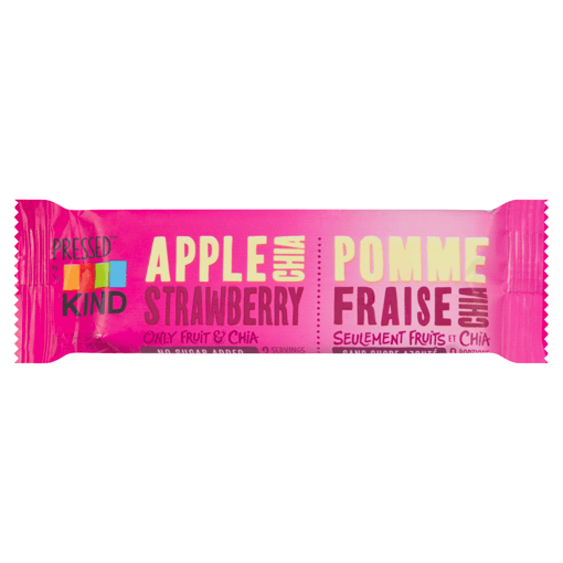 Picture of Pressed Bars - Apple Strawberry Chia - 35 g