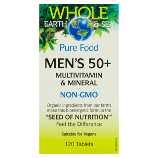 Picture of Multivitamin and Mineral - Men's 50+ - 120 tablets