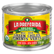 Picture of Diced Green Chiles - Mild - 118 ml