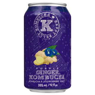 Picture of Kombucha - Purple Ginger - 355 ml