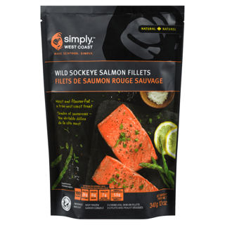 Picture of Sockeye Salmon Fillets - 340 g