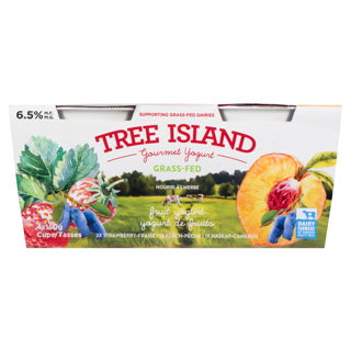 Picture of Grass-Fed Yogurt - Fruit Variety Pack - 4 x 150 g
