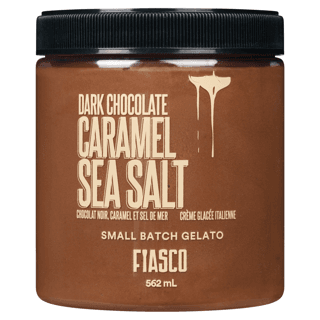 Picture of Gelato - Dark Chocolate Caramel Sea Salt - 562 ml