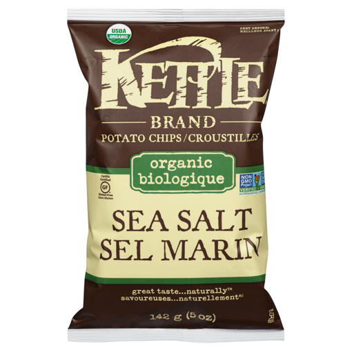 Picture of Organic Potato Chips - Sea Salt - 142 g