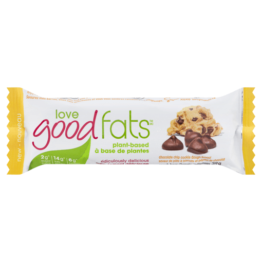 Picture of Bar - Chocolate Chip Cookie Dough - 39 g