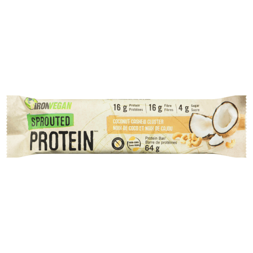 Picture of Sprouted Protein Bar - Coconut Cashew Cluster - 64 g