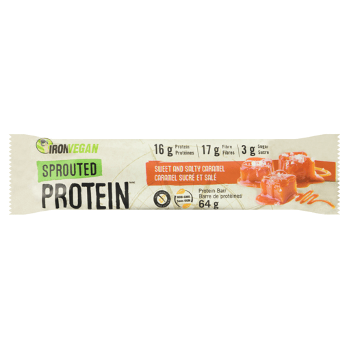 Picture of Sprouted Protein Bar - Sweet and Salty Caramel - 64 g