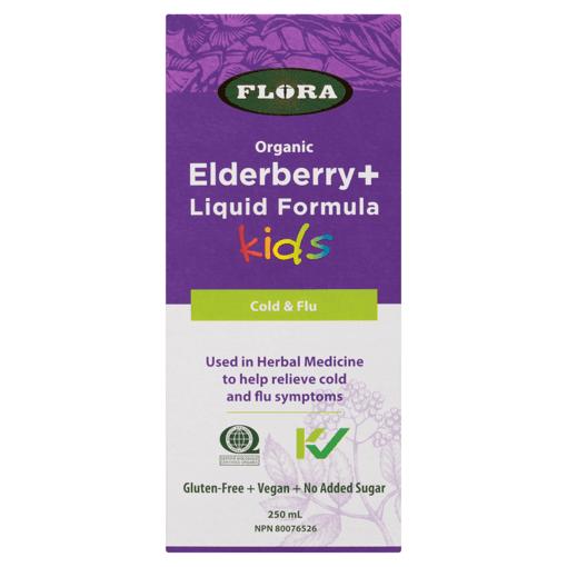 Picture of Elderberry+ Liquid Formula for Kids - 250 ml