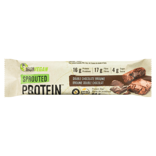 Picture of Sprouted Protein Bar - Double Chocolate Brownie - 64 g