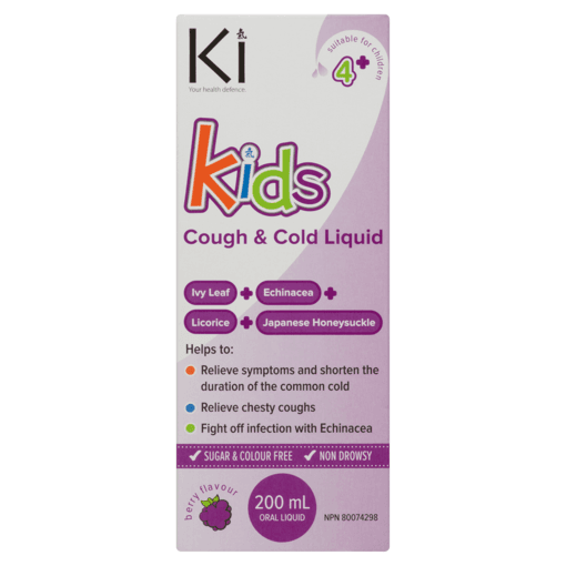 Picture of Kids Cough & Cold Liquid - 200 ml