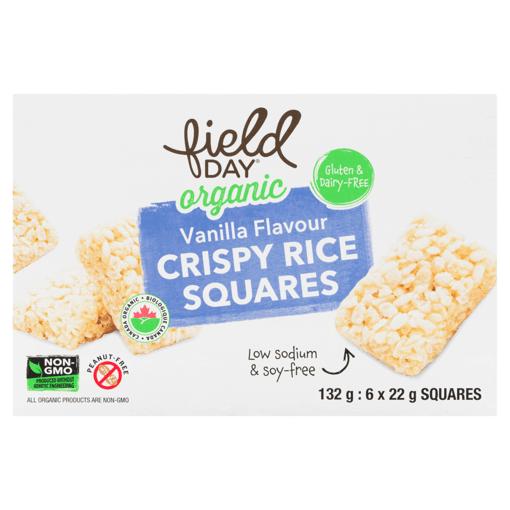 Picture of Crispy Rice Bar - Vanilla - 132 g