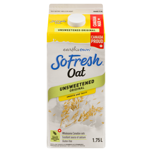 Picture of Oat SoFresh - Unsweetened Original - 1.75 L