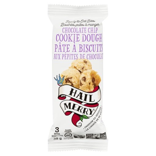 Picture of Bites - Chocolate Chip Cookie Dough - 38 g