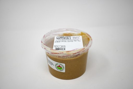 Picture of Organic Crunchy Roasted Peanut Butter - 500 ml Container - per 100g