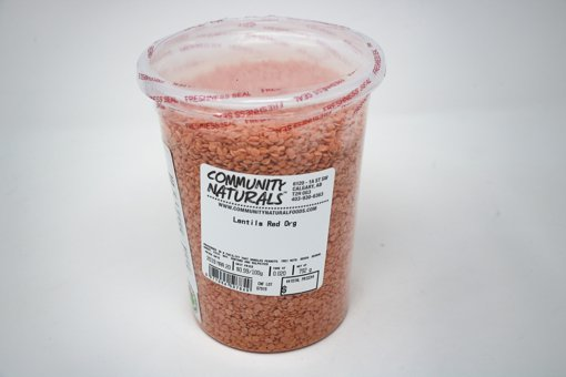 Picture of Red Lentils - 1 L Container