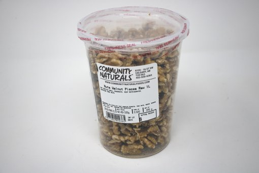 Picture of Raw Walnut Pieces - 1 L Container - per 100g