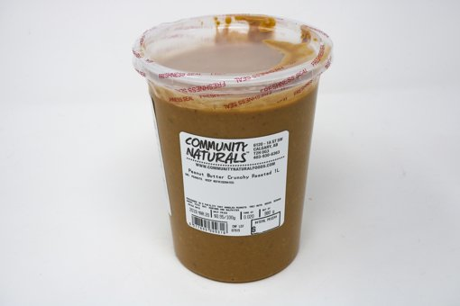 Picture of Crunchy Roasted Peanut Butter - 1 L Container - per 100g