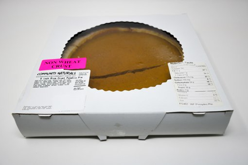 Picture of Pie - Rice Crust Pumpkin 9 inch - 1 each