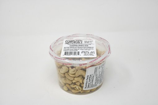 Picture of Raw Whole Cashews - 500 ml Container - 275 g