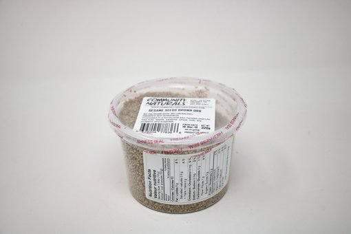 Picture of Brown Sesame Seeds - 500 ml Container - 320 g