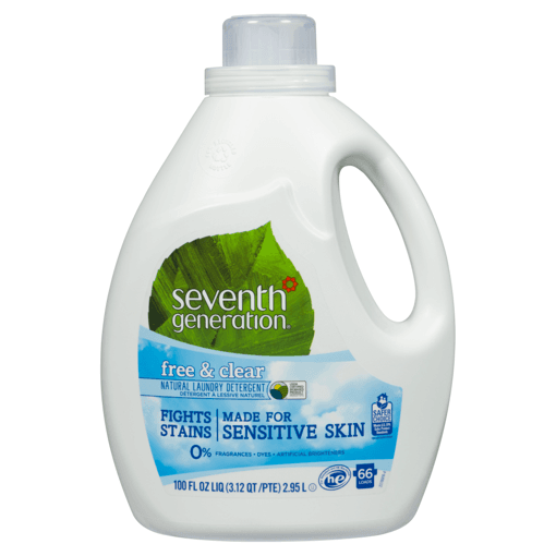 Picture of Natural Laundry Detergent - Free & Clear - 2.95 L