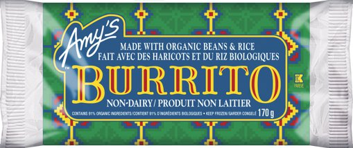Picture of Burrito - Bean & Rice - 170 g