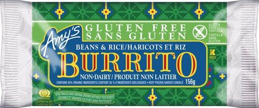 Picture of Gluten Free Burrito - Bean & Rice - 156 g