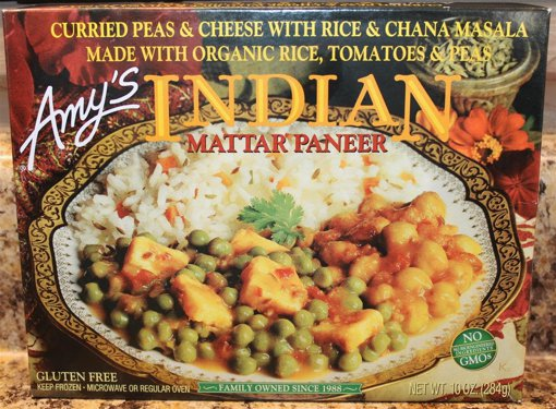 Picture of Indian Mattar Paneer - 284 g