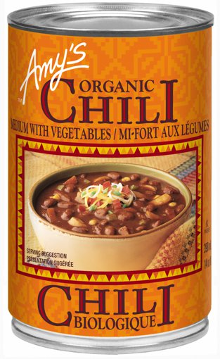 Picture of Medium Chili with Vegetables - 398 ml
