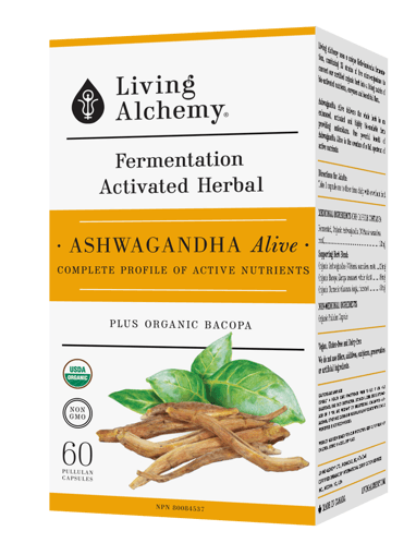 Picture of Alive - Ashwagandha - 60 capsules