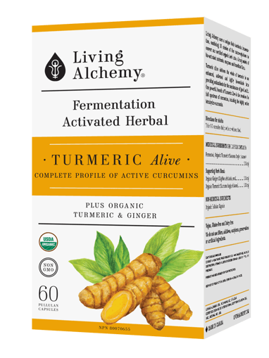 Picture of Turmeric Alive - 60 capsules